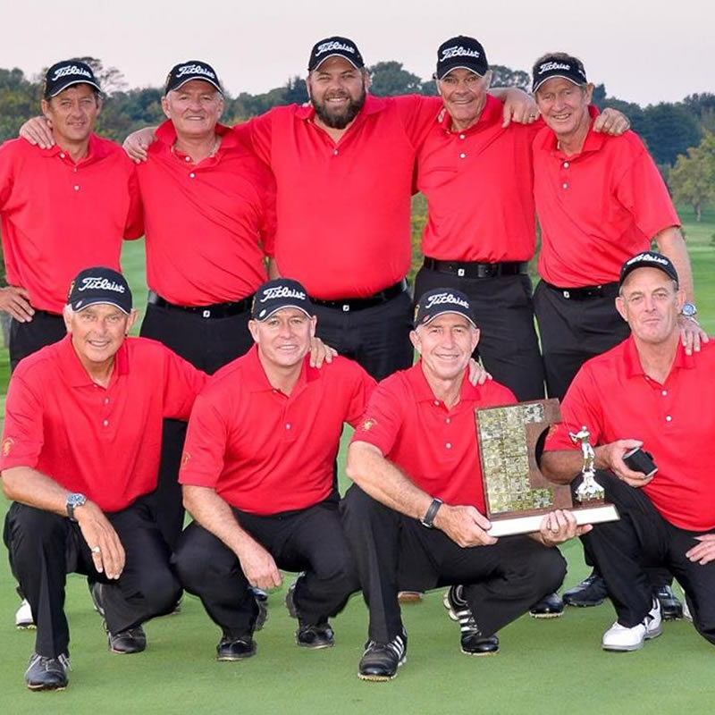 golf players group