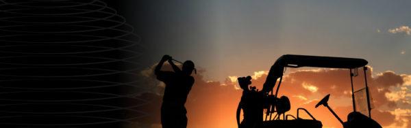 evening golf skies